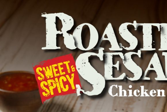 NEW Roasted Sesame ¼ Chicken!