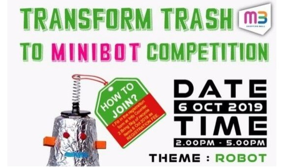 Transform Trash To Minibot Competition