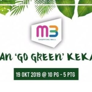 GO GREEN DAY- stay healthy with us!